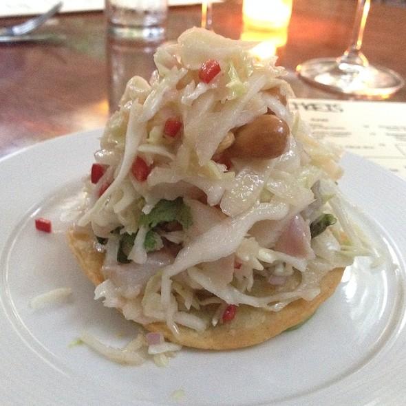 Kanpachi Ceviche Tostada - Michael's - Santa Monica, Santa Monica, CA