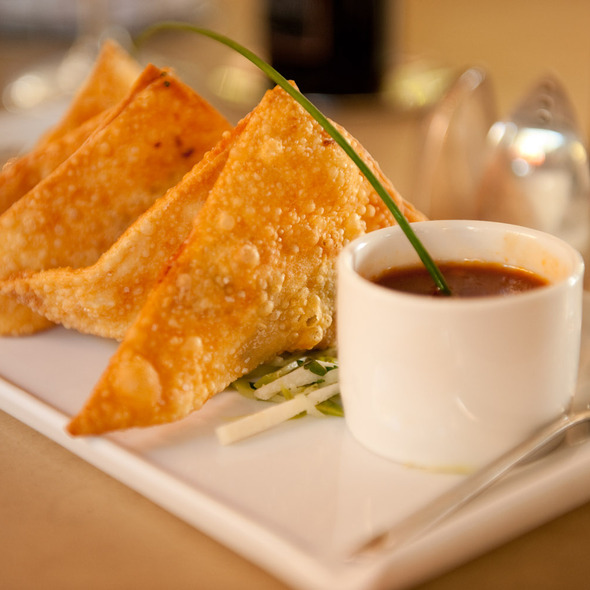 Chicken Wontons - Luminaria Restaurant & Patio, Santa Fe, NM