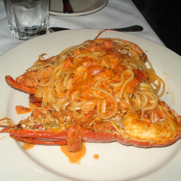 Tagliatelle with Lobster - Landini Brothers, Alexandria, VA