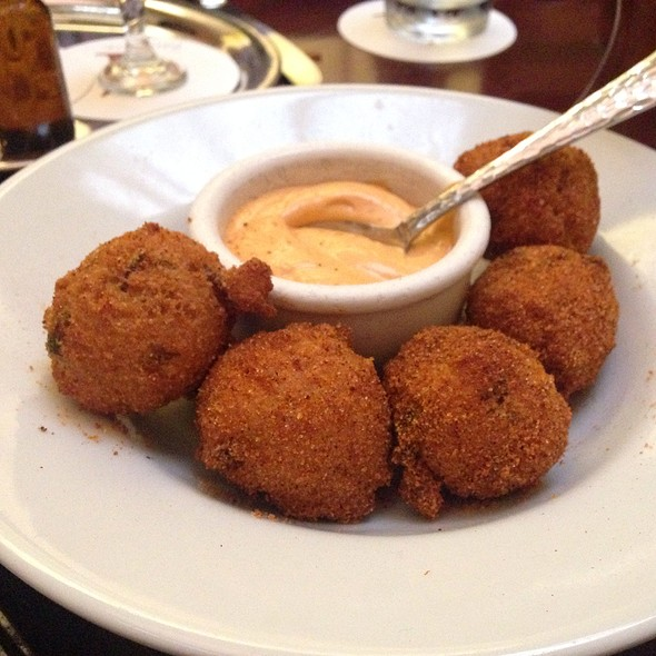 House Bacon Cheddar Hush Puppies - Chicago q, Chicago, IL