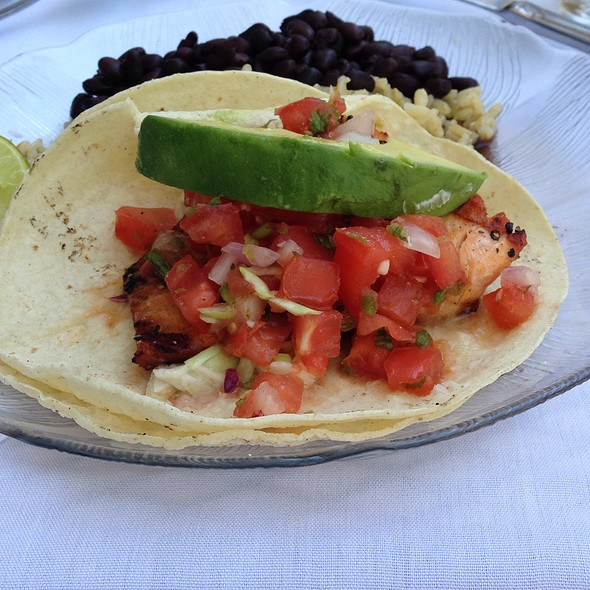Salmon Tacos - Rosy's at the Beach, Morgan Hill, CA