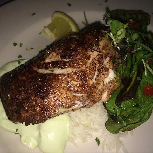 Five Spice Seared Salmon - The Washington House - Pennsylvania, Sellersville, PA