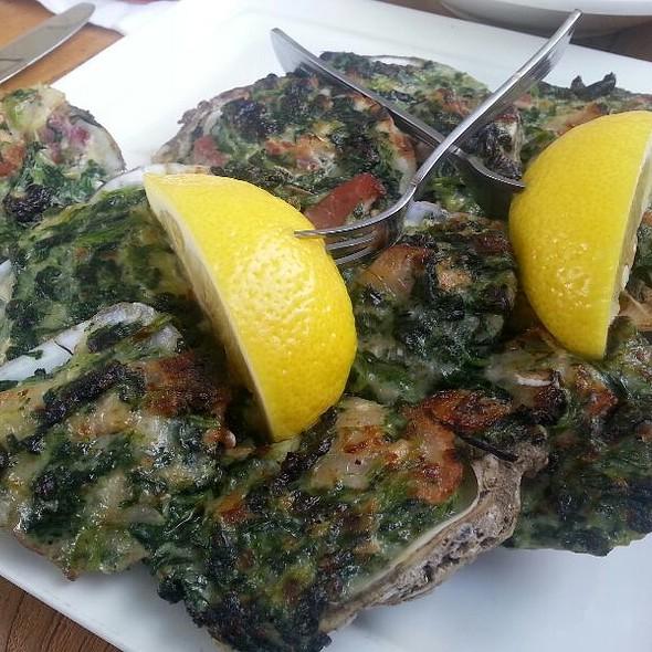Oysters Rockafeller - Rockafeller's Restaurant, Virginia Beach, VA