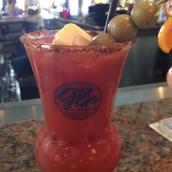 Bloody Mary - JB's On The Beach, Deerfield Beach, FL