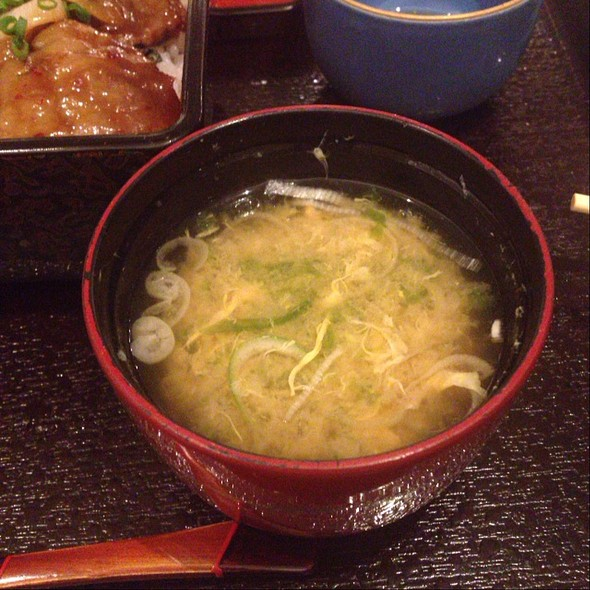 Miso Soup - Kobe Beef Kaiseki 511, Minato-ku, Tokyo