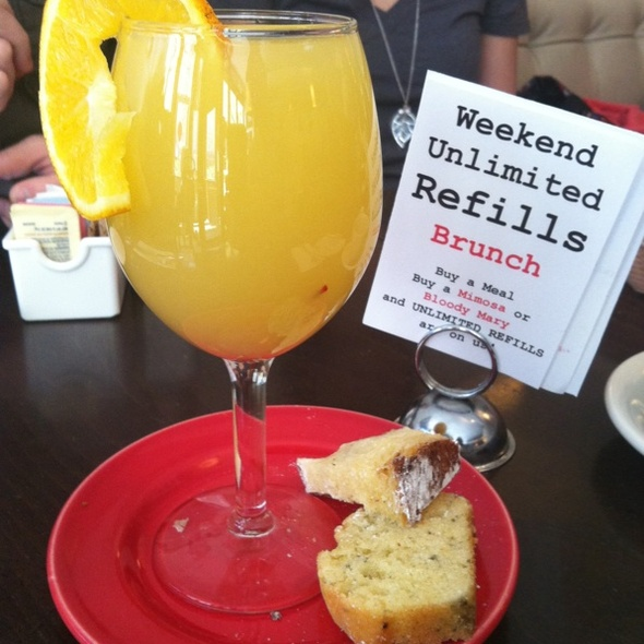 Bottomless Mimosa - Regional, New York, NY