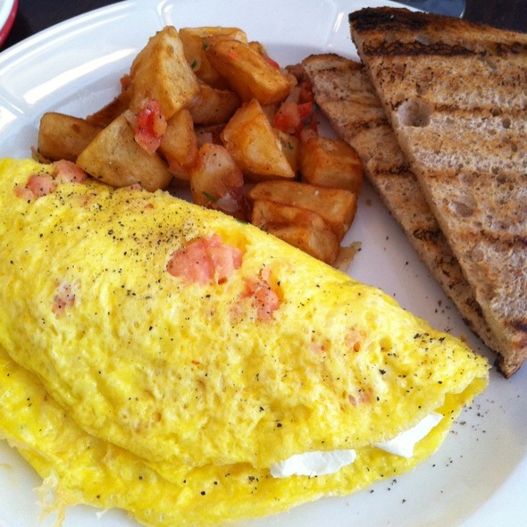 Salmon Omlet With Cream Cheese - Regional, New York, NY