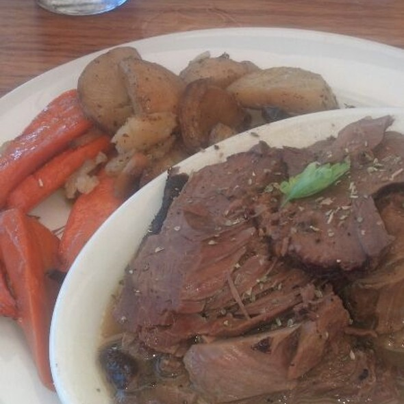 Roasted Lamb - The Greek Mediterranean Steak & Seafood, Ventura, CA