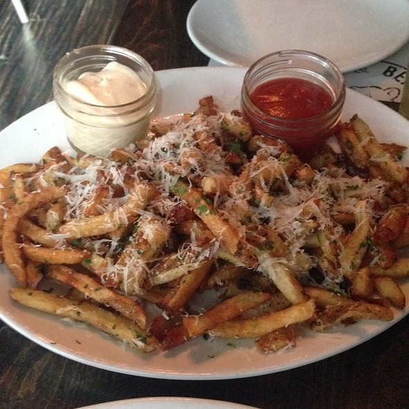 Truffle Parmesan Fries - Bull and Bear, Chicago, IL