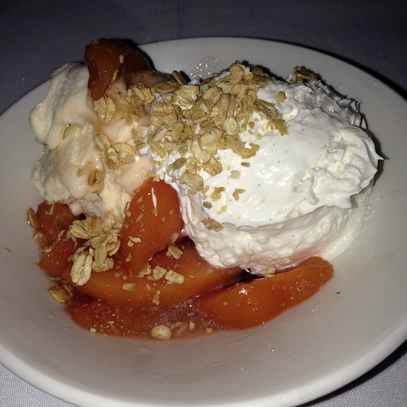 Stone Fruit Parfait - Oceanaire Seafood Room - Minneapolis, Minneapolis, MN