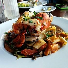 Lobster Pasta - Fish Hopper, Monterey, CA