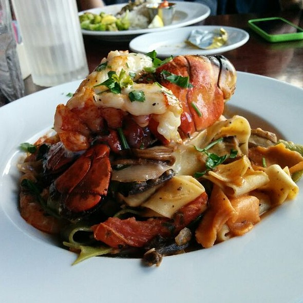 Lobster Pasta - Fish Hopper, Monterey, CA