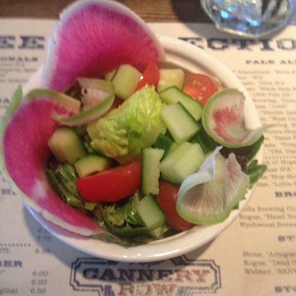 Side Salad - Cannery Row Brewing Company, Monterey, CA