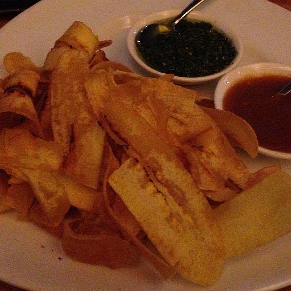 Plantain Chips - Churrascos - River Oaks, Houston, TX