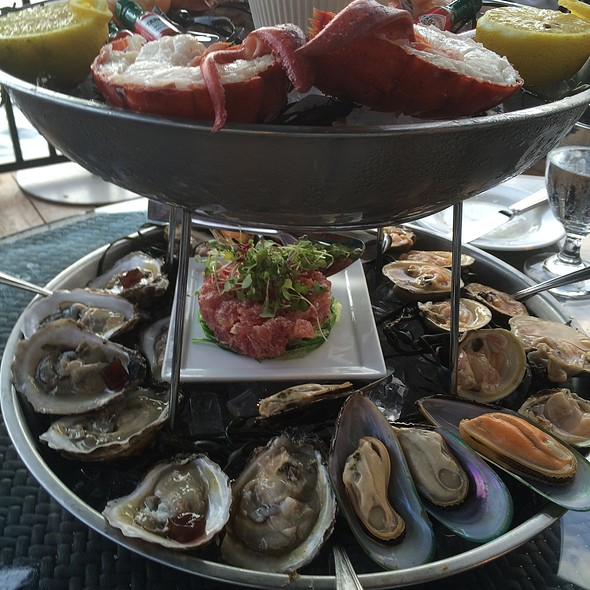 Seafood Tower - Water's Edge, Long Island City, NY