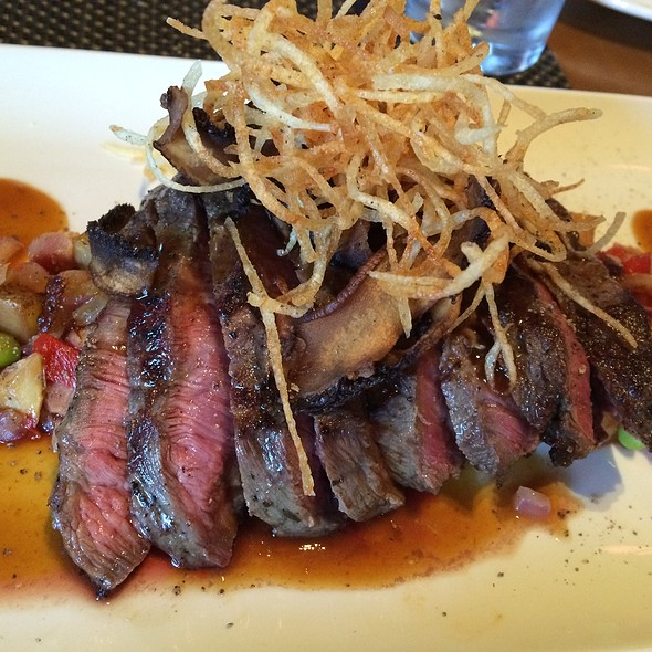 flat iron steak - Park West Tavern, Ridgewood, NJ