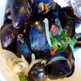Mussels - Edible Canada at the Market, Vancouver, BC