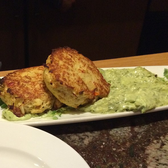 Crab Cake Appetizer - Dusty's Wine Bar, Okemos, MI