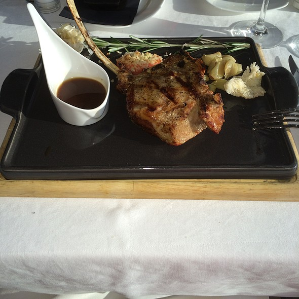 Veal Chop - Kimball's Kitchen, Duck, NC