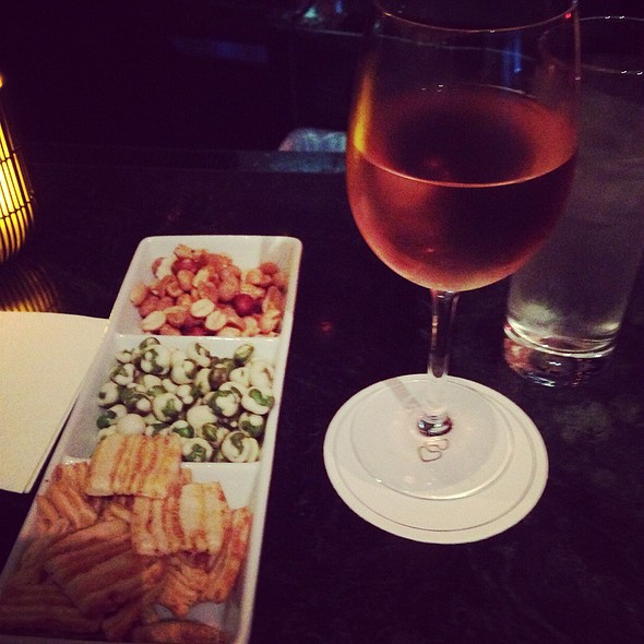 Rosé Wine And Free Snacks - Gaby Restaurant at Sofitel Luxury Hotel - NY, New York, NY