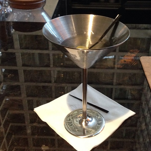 Belvedere Martini - Q Kitchen|Bar - Hyatt Regency, San Antonio, TX