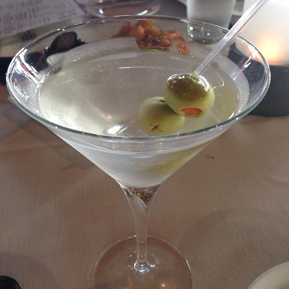 Gin Martini - Rusty Pelican Restaurant, Newport Beach, CA
