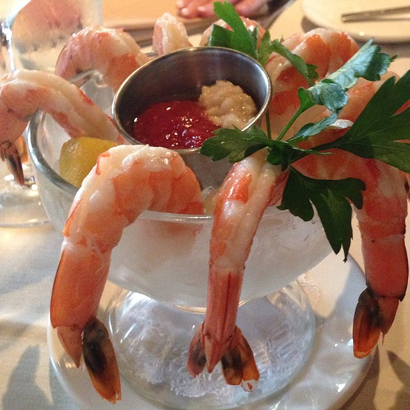 Jumbo Shrimps Cocktail - Rusty Pelican Restaurant, Newport Beach, CA