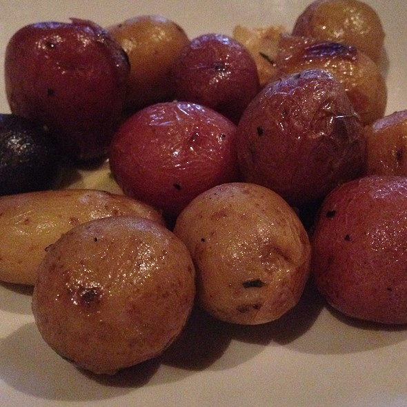 Roasted Fingerlings Potatoes - Rusty Pelican Restaurant, Newport Beach, CA