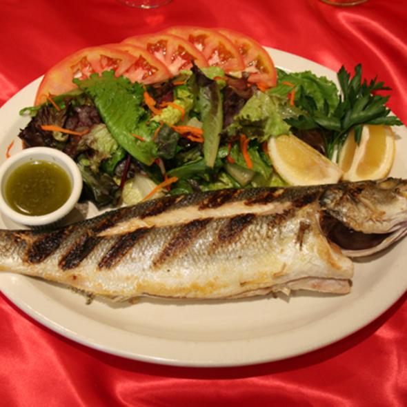 Sea bass - Seven's Mediterranean Turkish Grill, New York, NY