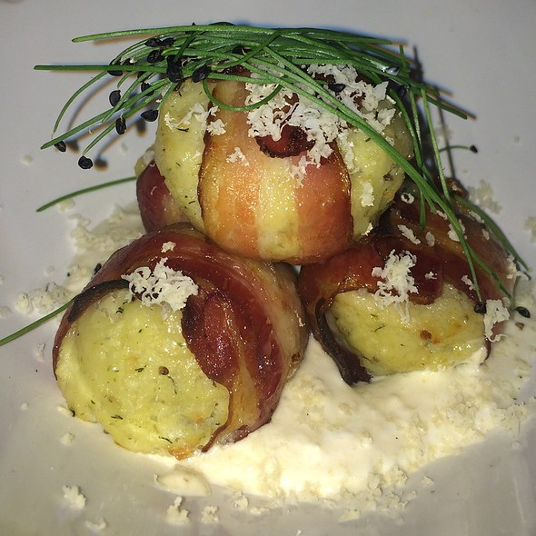 Nueske's Bacon-Wrapped Matzoh Balls - The Gorbals - Brooklyn, Brooklyn, NY