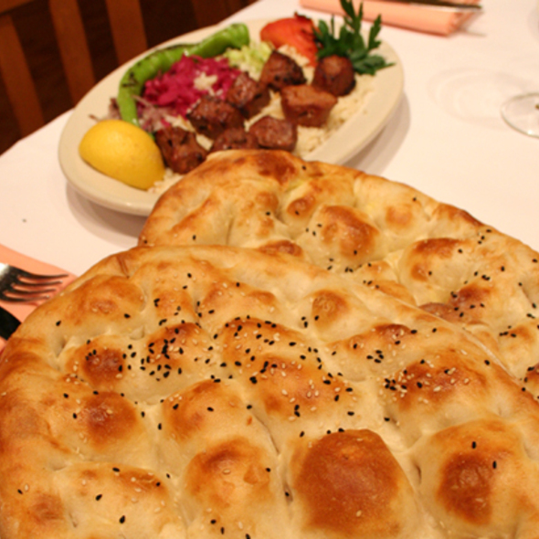 Turkish Style Bread - Seven's Mediterranean Turkish Grill, New York, NY