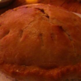 Beef & Veggie Pot Pie - RingSide Steakhouse - Uptown, Portland, OR