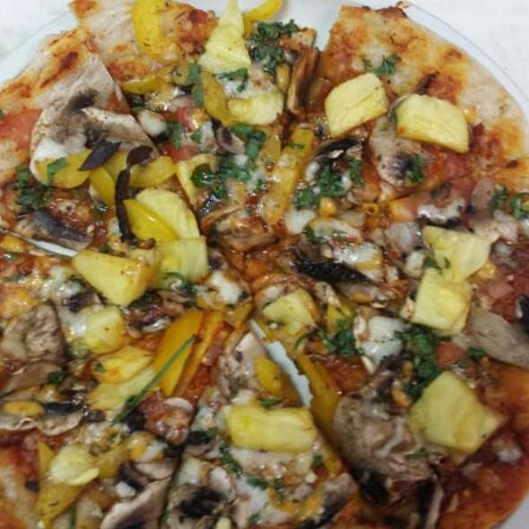 Hawaiian Veggie Pizza - Mehek, Princeton, NJ