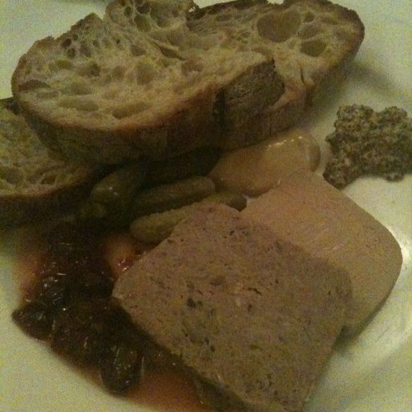 Pâté du Chef: House-Made Charcuterie with Classic Accompaniments - Beacon Hill Bistro, Boston, MA