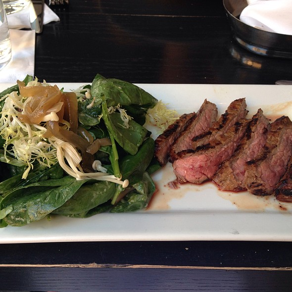 Salad With Steak - Sassafraz, Toronto, ON