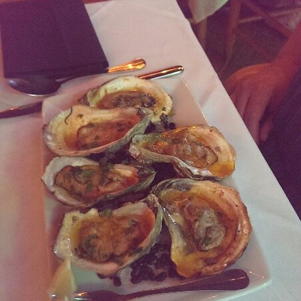 Char-grilled Gulf Oysters  - Cappy's Restaurant, San Antonio, TX