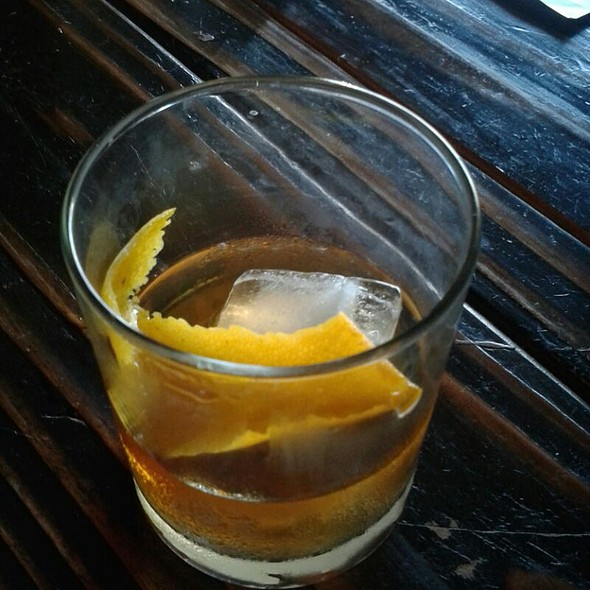 Old Fashioned - Areal Restaurant, Santa Monica, CA