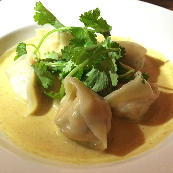 Salmon Dumplings - Hapa Sushi Grill & Sake Bar - Pearl St. Boulder, Boulder, CO