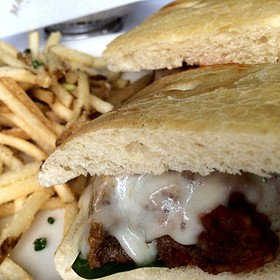 Meatball Sandwich - Maggiano's - Las Vegas, Las Vegas, NV