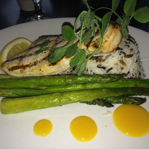 Grilled Swordfish Steak - Seaglass Restaurant and Lounge, Salisbury, MA