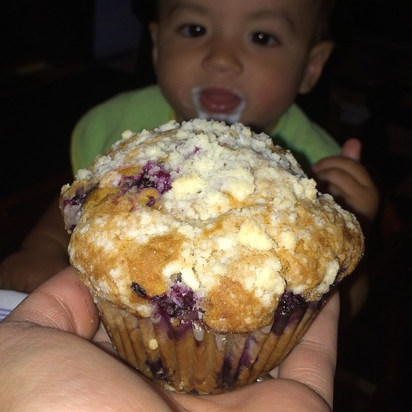 Blueberry Muffin - Brasserie 292, Poughkeepsie, NY