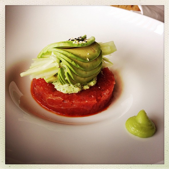 Tuna Tartare - River Cafe, Brooklyn, NY