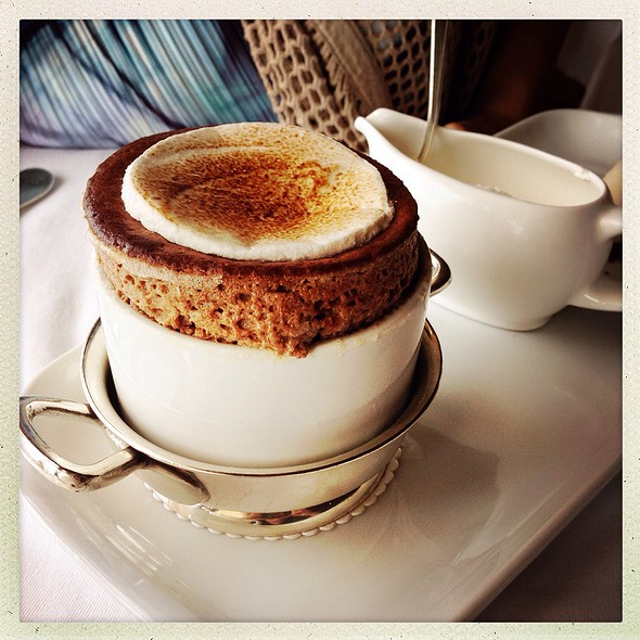 Milk Chocolate Souffle - River Cafe, Brooklyn, NY