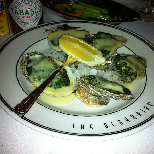 Oysters Rockefeller - Oceanaire Seafood Room - Orlando, Orlando, FL