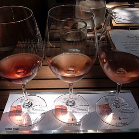Think Pink Wine Flight - Vino Volo - Bethesda, Bethesda, MD