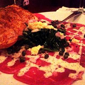 Tenderloin carpaccio - Fleming's Steakhouse - Austin The Domain, Austin, TX