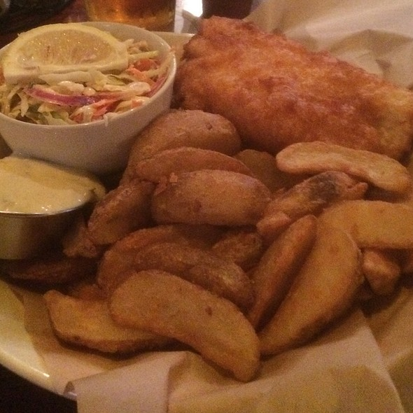 Fish and Chips - Tigín Irish Pub & Restaurant - St. Louis, Saint Louis, MO