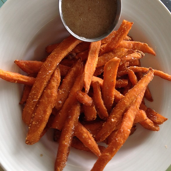 Sweet Potato Fries - Charleston Harbor Fish House - Charleston Harbor Resort & Marina, Mount Pleasant, SC