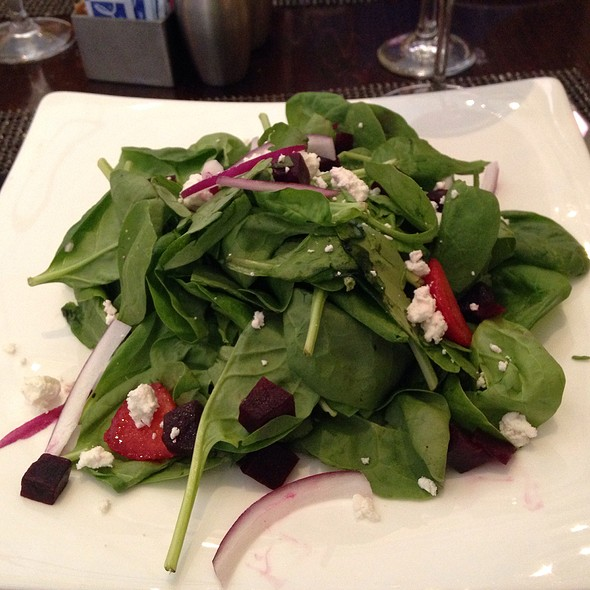 Spinach And Strawberry Salad - Line & Lariat, Houston, TX