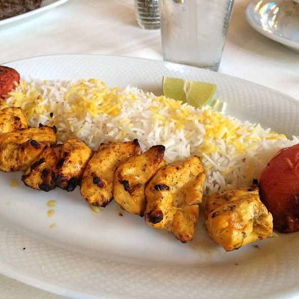 Chicken Kabobs And Rice - Yekta Kabobi Restaurant, Rockville, MD